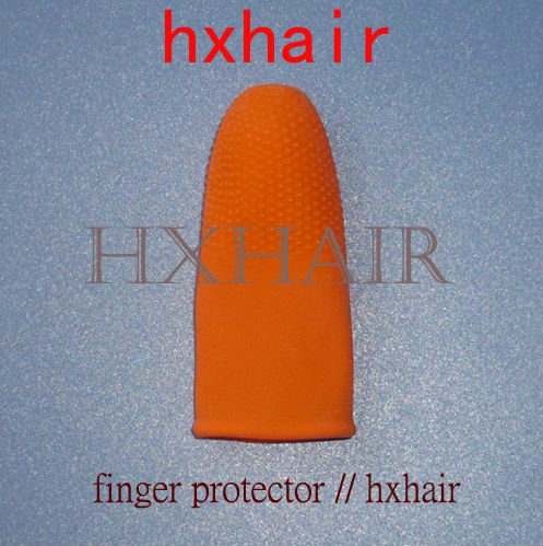 Freeshipping - 2000pcs Latex Finger Cots / Finger Protector / Hair Extension Tools