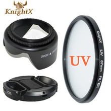 UV Filter Lens cleaning Kit Petal Flower FOR  Pentax Sony Nikon Canon 1100D 1000D 600D 550D 500D Choose Szie from 49MM TO 67MM
