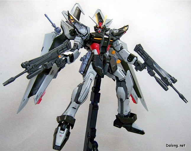 1:100 MG Gundam 20cm Strike gundam tall model black MG001 Assembled Model toy - MATILDA store
