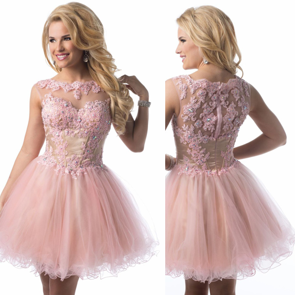 on sale promotion cheap sleeveless beaded lace tulle puffy