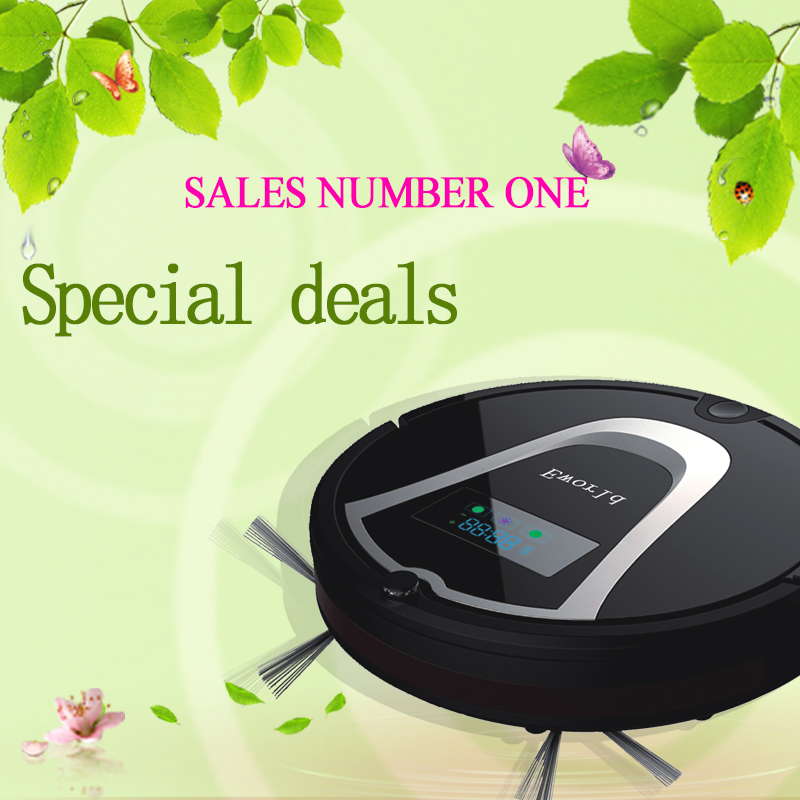 Eworld Robot Vacuum Cleaner M884 with Touch-Sensitive Sensor,Robot Vacuum Cleaner with 0.6L Dust Tank for Floor Cleaning(China (Mainland))
