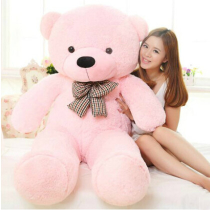 Life size teddy bear plush toys 180cm giant soft stuffed animals baby dolls big peluches peluches Gift christmas