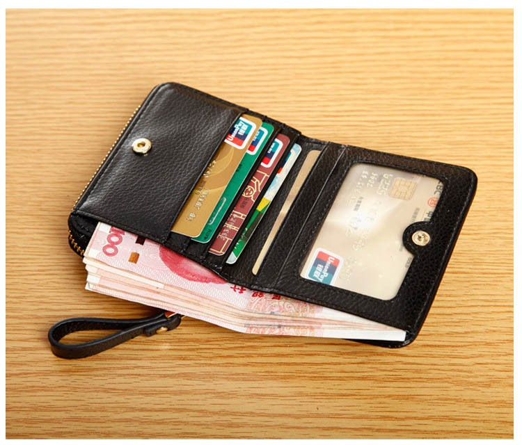 Women genuine leather wallets 19