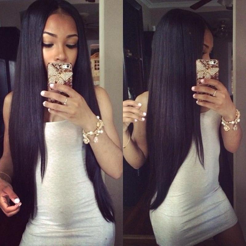 Light Italian Yaki Straight U Part Human Hair Wigs Glueless Virgin Peruvian Unprocessed Remy Human Hair Upart Wigs Left U Shaped<br><br>Aliexpress