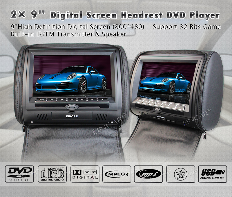 car headest DVD player