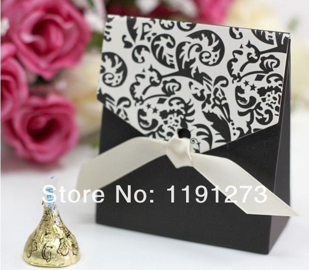 arrival--wedding favors Factory 5 creative bride groom gift candy box Hot Sale,Lovely Flower - Luis's Lovely&Romantic store