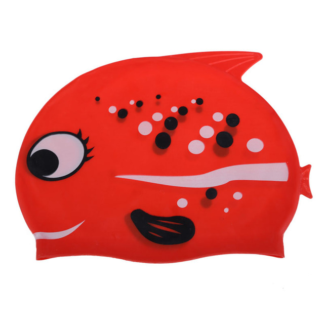 Children Swimming Cap with Sharks
