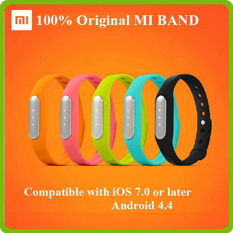 Original Xiaomi Mi Band MiBand Smart Wristband Bracelet Fitness Wearable Tracker Waterproof IP67 Smartband for Android 4.4