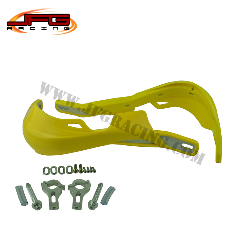 Free shiping off road  motorcycle Motocross pit bike dirt bike  handle bar Brush Bar Hand Guards protector 22MM yellow color<br><br>Aliexpress