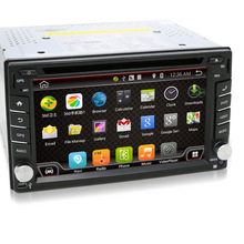 Universal 2 din Android 4.4 Car DVD player GPS+Wifi+Bluetooth+Radio+Quad Core+DDR3+Capacitive Touch Screen+3G+car pc+aduio(China (Mainland))