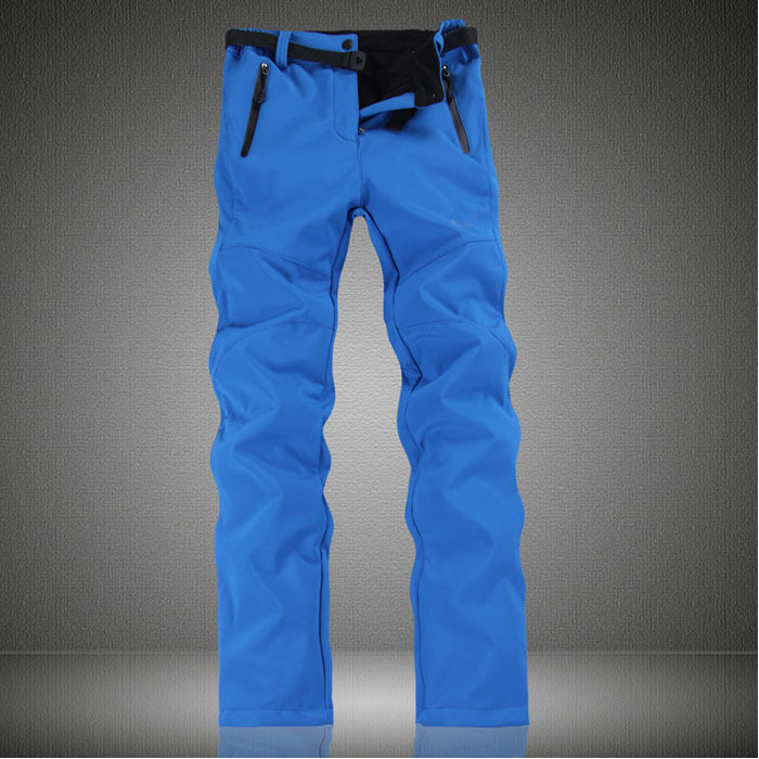 US famous brand fleece themal outdoor sport ski pants/women winter black pants/snowboard High waterproof pants for Christmas(China (Mainland))