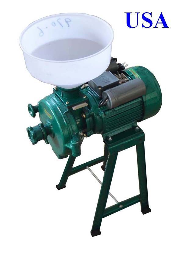 New Electric Animal Poultry Feed Mill Grinder Use Corn Grain Wheat Barley(China (Mainland))