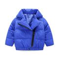 New Autumn And Winter In British Fashion Oblique Zipper Jacket Children Boys And Girls Children s