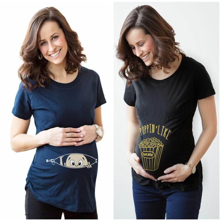 Стильные футболки для беременных