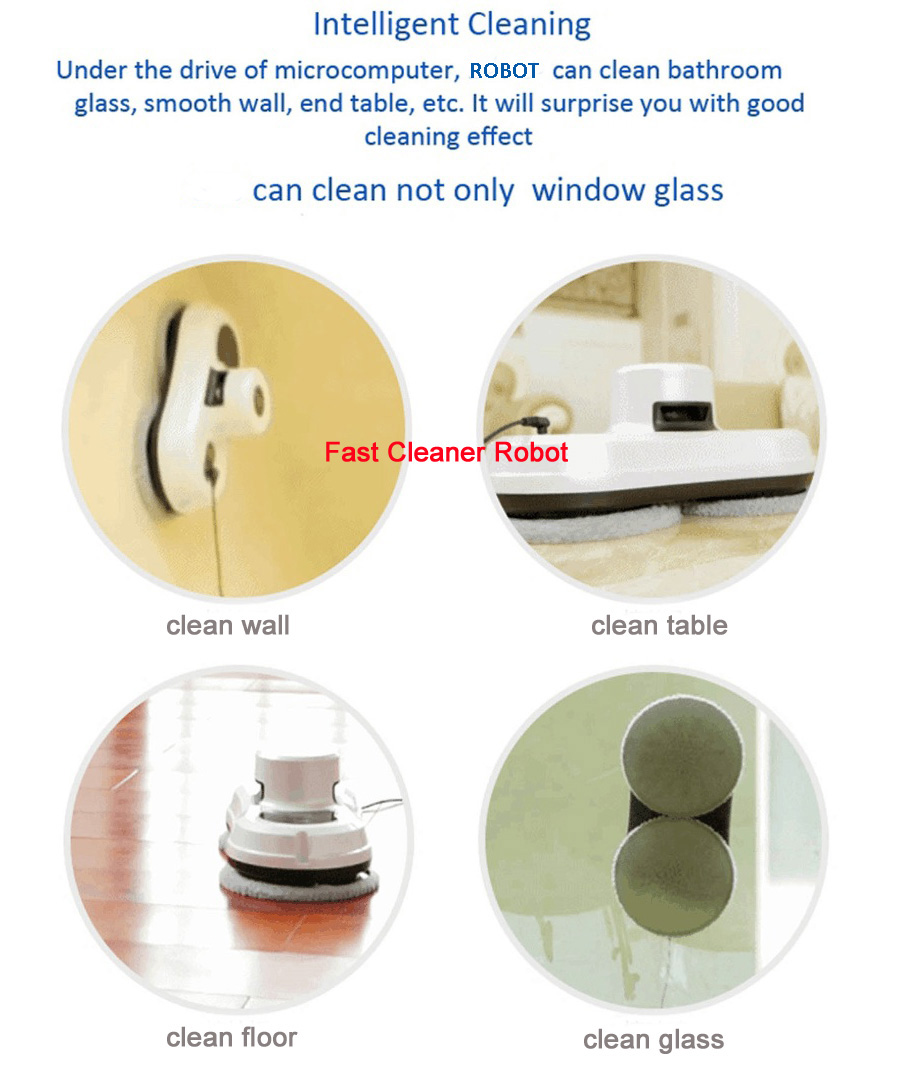 Ship from Russia Warehouse Wet And Dry Window Cleaning Robot Glass Cleaning With Remote Control,UPS Uninterruptible Protection