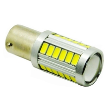 1pcs 1156 BA15S P21W 33 led 5630 5730 smd Car Tail Bulb Brake Lights auto Reverse Lamp Daytime Running Light red white yellow(China (Mainland))