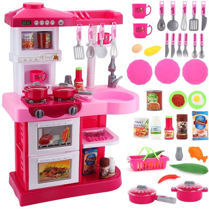 para cozinha Sallei child toy girls kitchen toys baby sooktops dinnerware set cocinitas infantiles sylvanian families(China (Mainland))