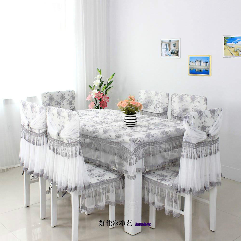 Aliexpresscom Buy Quality dining table cloth piece set  : Quality dining table cloth piece set chair cover cushion linen cotton lace 100 many kinds of from www.aliexpress.com size 1000 x 1000 jpeg 160kB