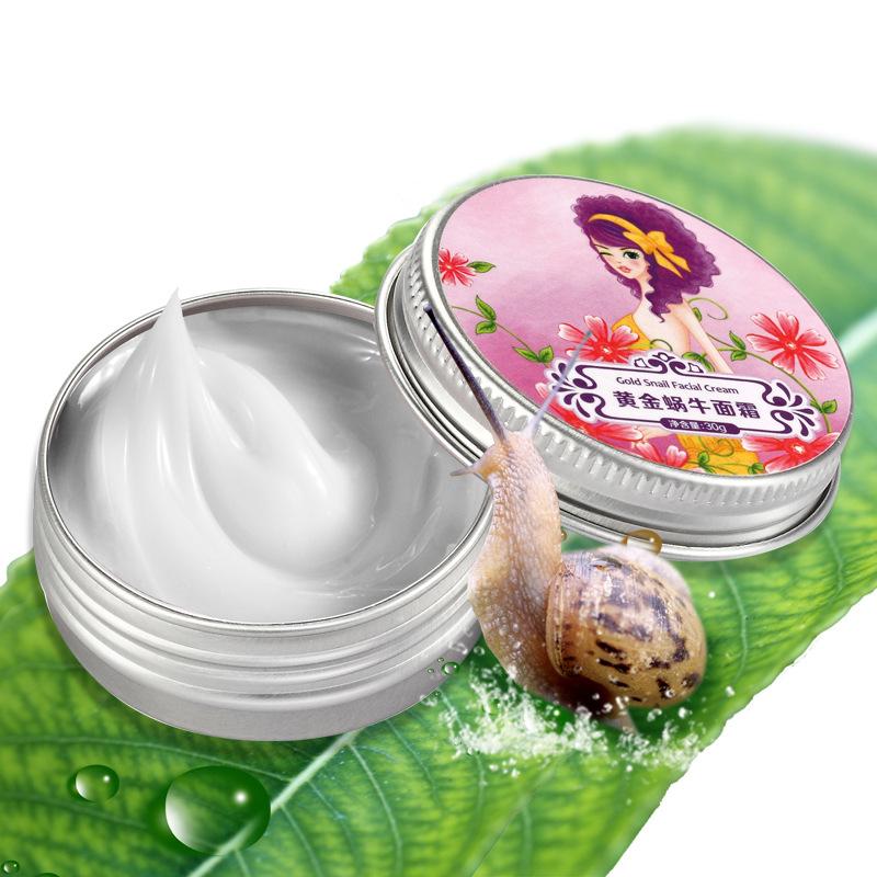 2017 Nature Snail Cream Moisturizing Skin Care Foundation Essential Smooth Repair Cream Anti-wrinkle Acne Anti Wrinkle Remove Fr