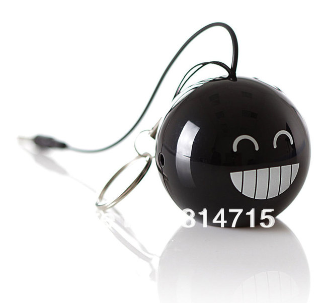 Free Shipping Mini Black Bomb Fashion Speaker