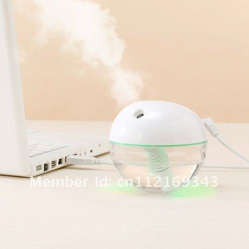 Air Purifiers,mini Humidifier with LED light