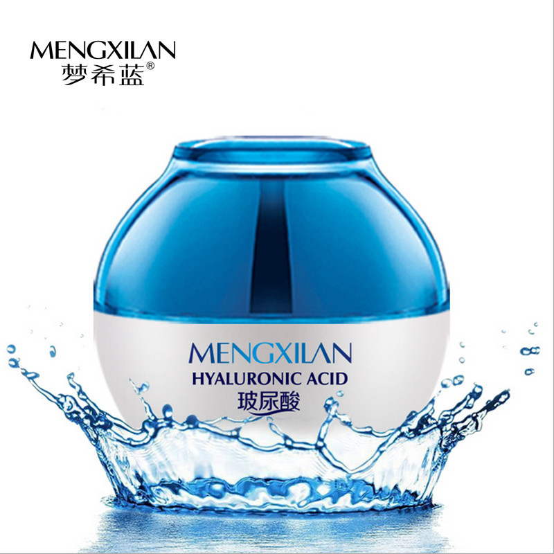 Hyaluronic Acid Facial Cream Face Care Acne Pimples Treatment Skin Care Whitening Cream Anti Wrinkle Moisturizing Black Head 50g(China (Mainland))