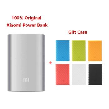 2015 New 100% Original Xiaomi power bank 10000mAh external battery pack portable charger USB output For phones pad