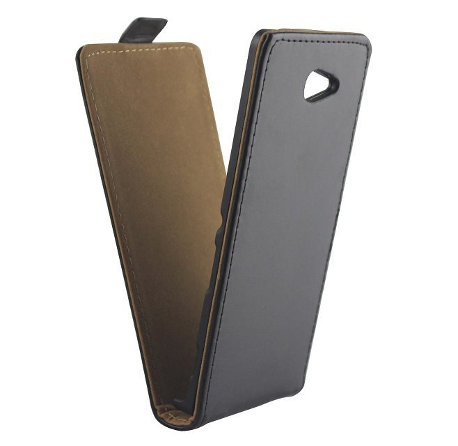 Sony Xperia M2 S50h Case Cover Genuine Real Leather Flip Case Sony Xperia M2 S50h Cover