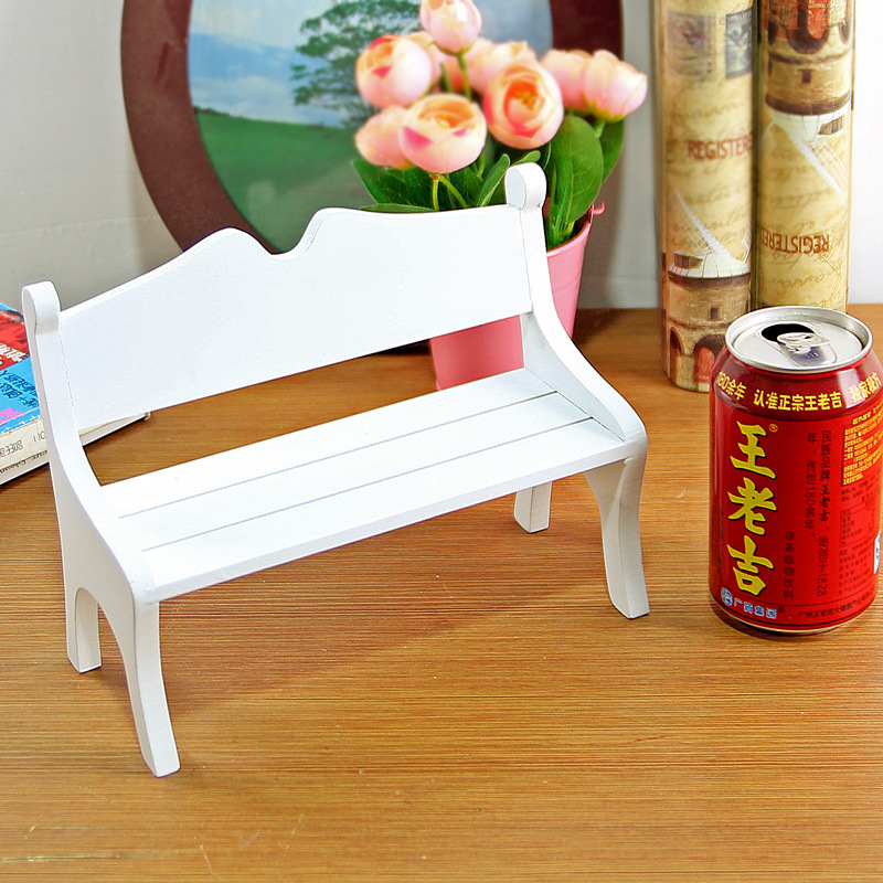 The Nordic Home Furnishing ornaments mini furniture wooden doll chair wooden crafts camera manufacturers selling props(China (Mainland))