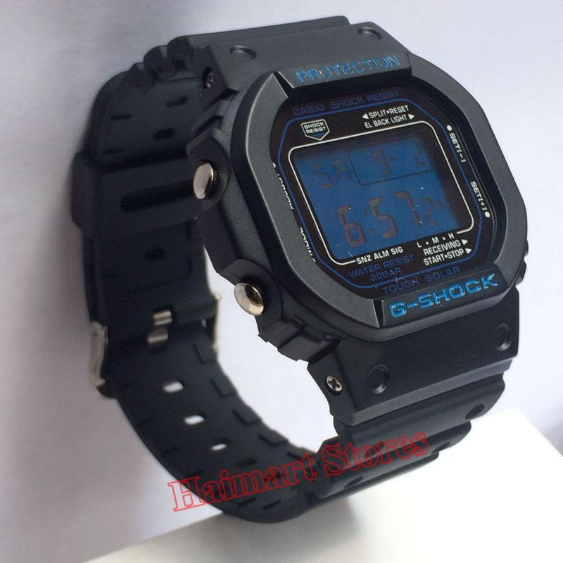 Military Grade Anti-Shock Film for <font><b>Casio</b></font> <font><b>Watch</b></font> G-Shock Digital Quartz LED Alarm Sports Movement Casual Wrist <font><b>Watch</b></font>