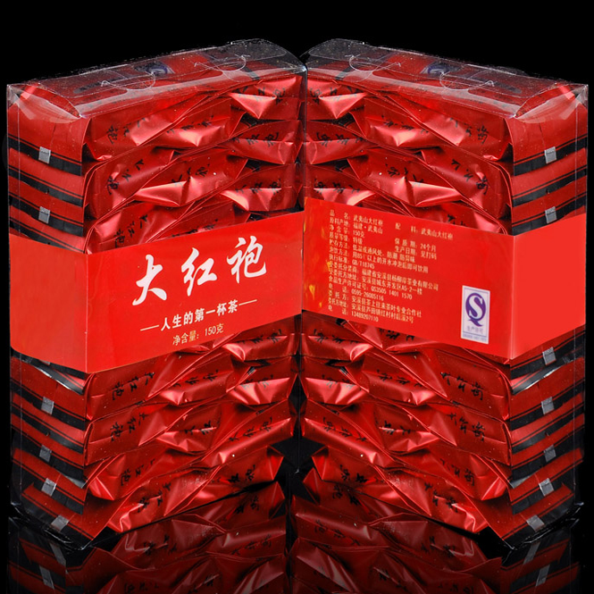 Free shipping 150g Dahongpao tea Big Red Robe Oolong wu long wulong wu long weight loss