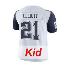Kid's Men's Youth 2016 Stitiched #21 Ezekiel Elliott #4 Dak Prescott Emmitt Smith #50 Sean Lee #82 Jason Witten #88 Dez Bryant(China (Mainland))