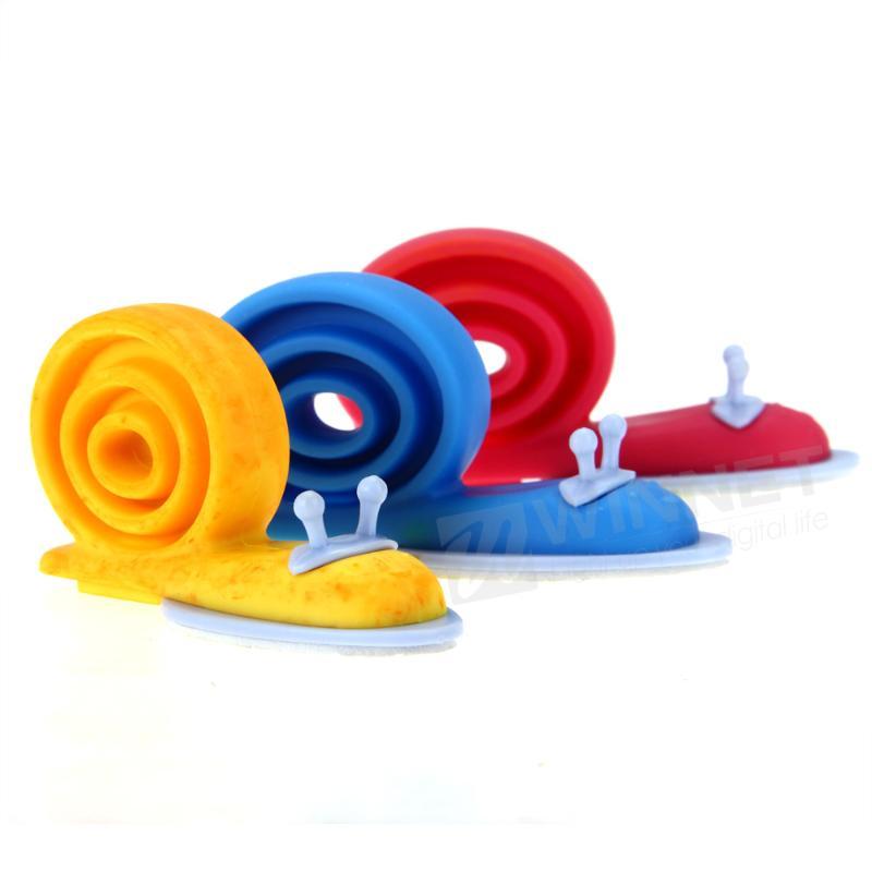Гаджет  3pcs Baby Safety Door Stopper Protecting Protector Children Safe Snail Shape None Аппаратные средства