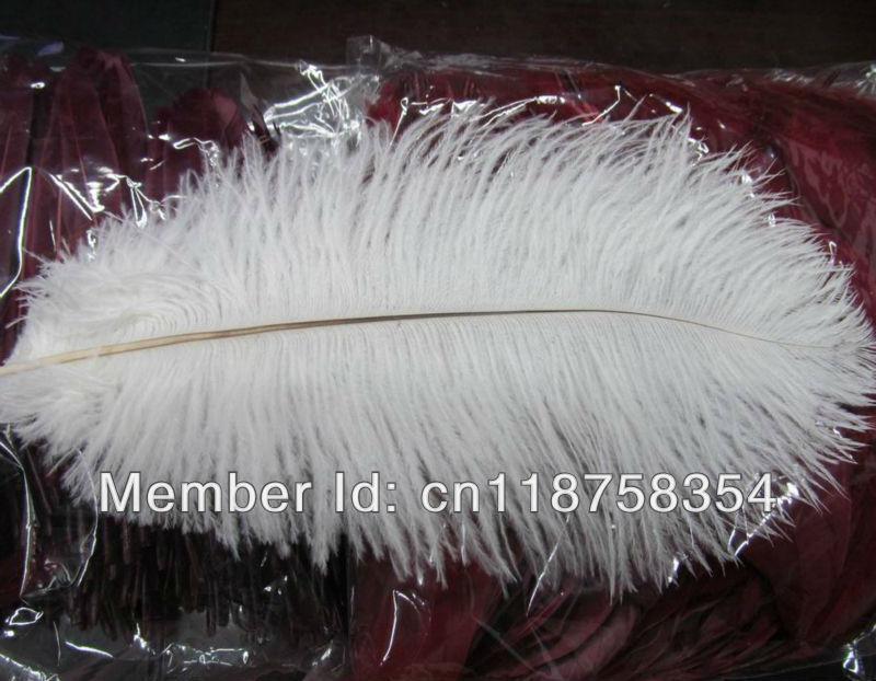 Pcs beautiful wedding centerpieces white ostrich