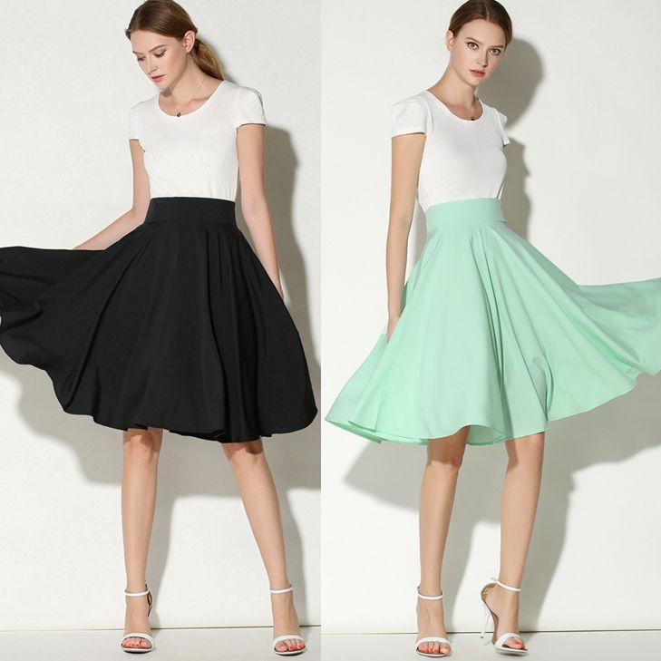 Vintage flared skirt
