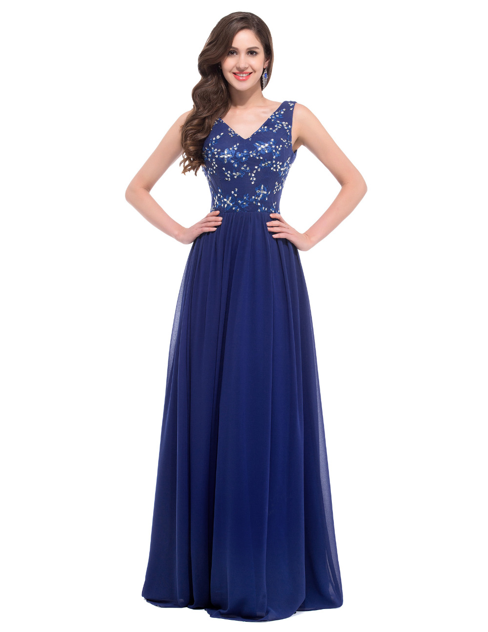 Online get cheap long dresses for wedding guests for Cheap formal dresses for wedding guests
