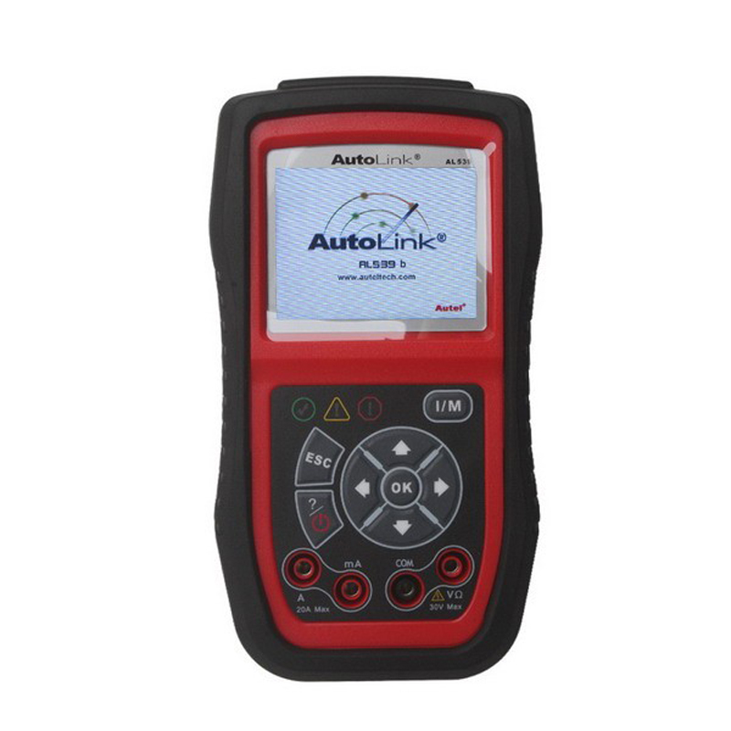 100% original AUTEL AUTOLINK AL539B engine Battery Test Diagnostic Tool Electrical OBDII code reader AL 539B auto scanner - Alldiagtool Online Store store