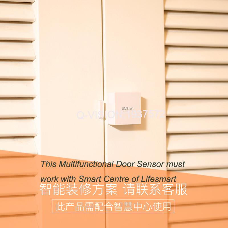 Lifesmart Multifunctional DoorWindow Sensor Security Alarm Wireless GSM3G4GWiFi Smart Home Motion Detect 433 Control by APP-2