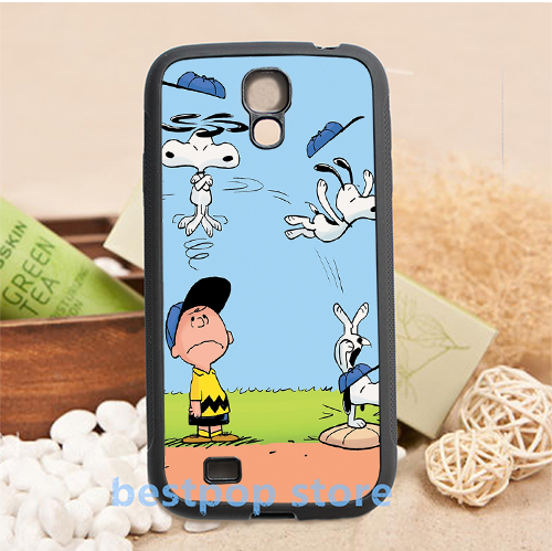 charlie brown 2 fashion housing phone cover case for samsung galaxy s3 s4 s5 s6 s7 note 2 note 3 note 4 #qi68(China (Mainland))