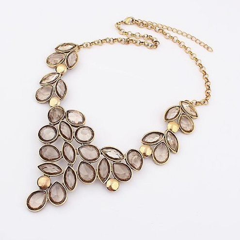 2014 Collares Fashion Grape Collar Vintage Choker Necklaces Chains Choke Jewelry  SPX1815