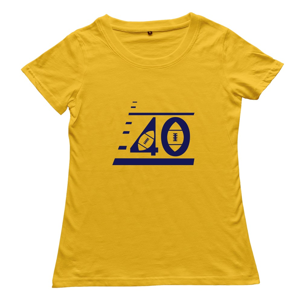2015 100 cotton custom football jerseys with number 40 t for Custom cotton t shirts