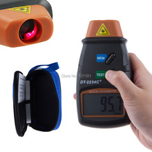 Digital Laser Tachometer RPM Meter Non-Contact Motor Speed Gauge Revolution Spin Free Shipping