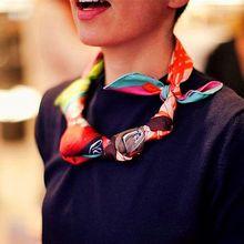 Desigual Scarf women 2015 womens fall fashion scarves Handbag design silk scarf pendant link necklace style bufandas brand(China (Mainland))