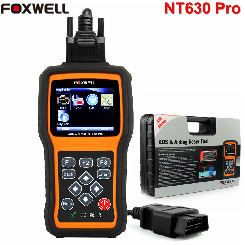 foxwell nt630 pro obd2 automotive scanner abs airbag reset. Black Bedroom Furniture Sets. Home Design Ideas