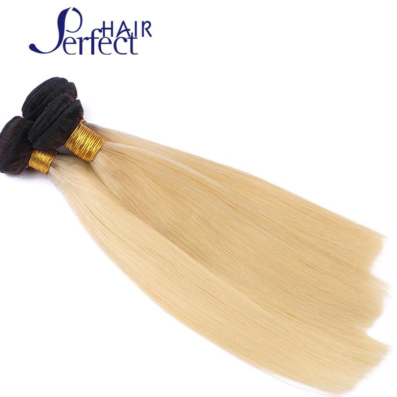 8A Brazilian Straight Hair With Closure #1B/613 ombre brazilian hair Blonde Human Hair Weft With Closure Brazilian virgin hair