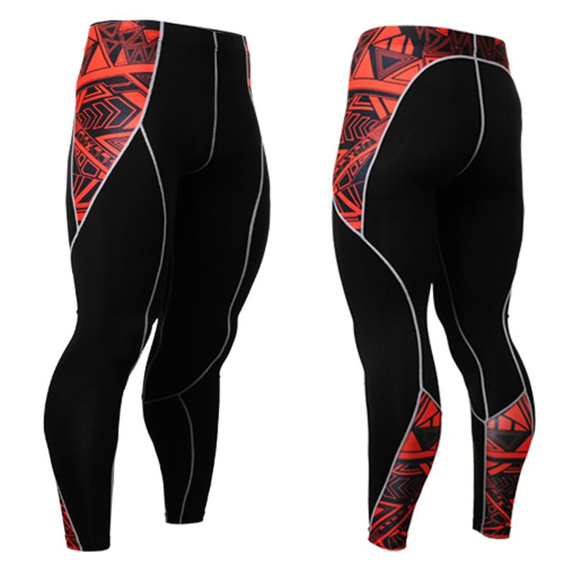 Brand Mens Original Rashguard Compression Long Skin Tight Perspirtion Pants Male Sexy Bottom& Sweatpants - LANWIND Store store