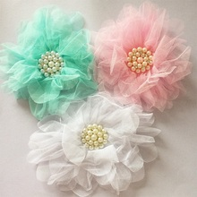 Buy 1 Pcs/lot Big Voile Flower Hair Clips Girls Headdress Accessories Hairpins Children Girls Hairpins Kids Flower Headband for $1.28 in AliExpress store