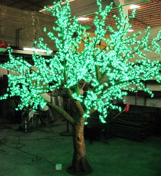 xmas lights Led festival light string led christmas 3 meters 3458 leds high artificial cherry tree,garden supplies