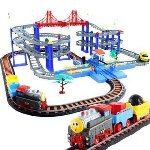 Free shipping via EMS Thomas rail car 25688 high-speed lines 4 car toy 31488(China (Mainland))