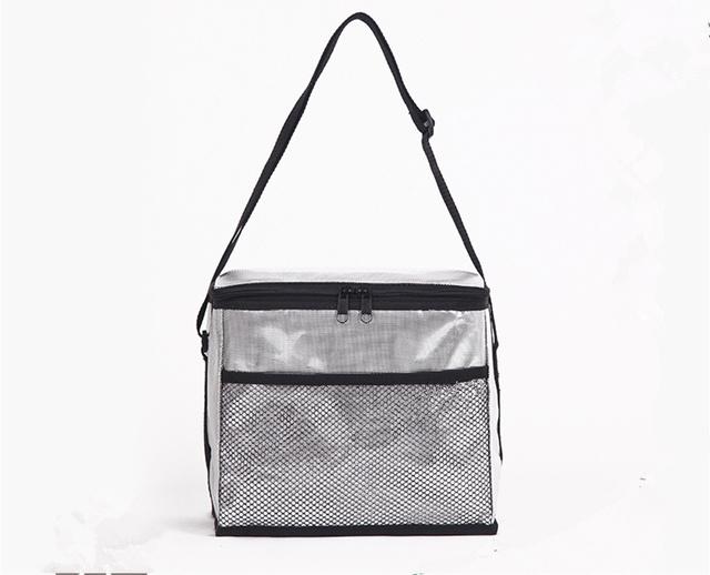 Алюминиевая фольга вне кулер сумки ПЕВА внутренний мешок льда 3 размер серебряный ...
